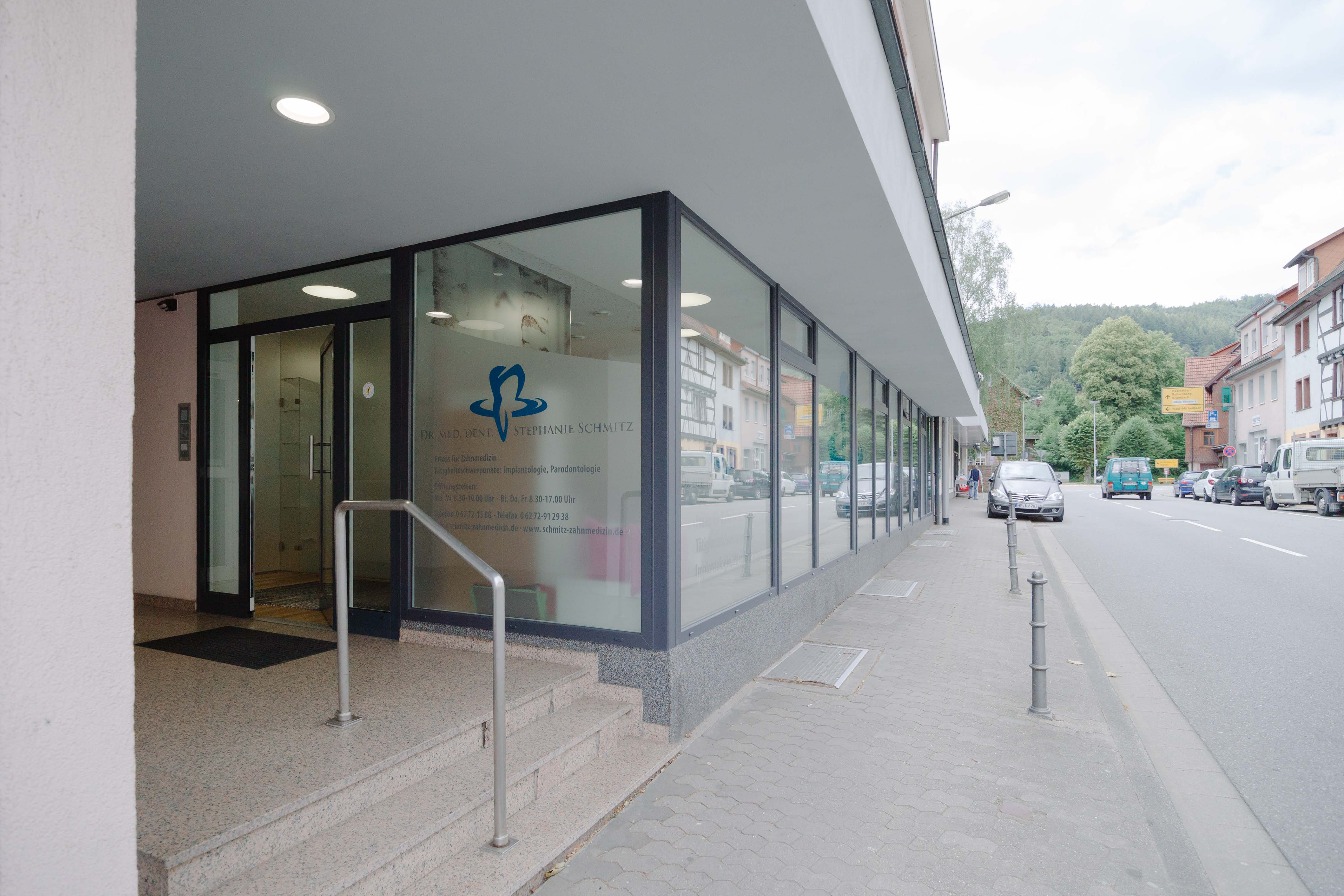 Dr. Schmitz, Praxis für Zahnmedizin in Hirschhorn / Außenansicht